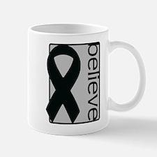 Silver (Believe) Ribbon Mug
