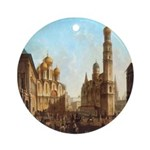 Cathedral Square Kremlin Ornament (Round)