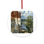 Novodevichy Convent Ornament (Round)