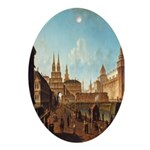 Resurrection Gates Moscow Oval Ornament