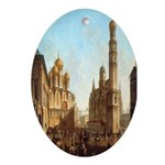 Cathedral Square Kremlin Oval Ornament