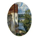 Novodevichy Convent Oval Ornament
