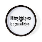 Military Intelligence Wall Clock