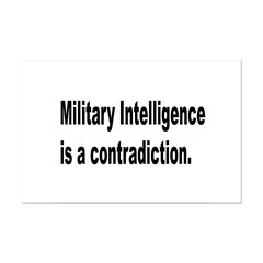 Military Intelligence Posters
