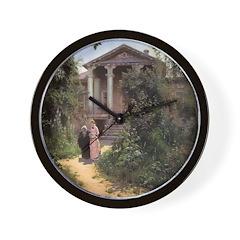 Grandmother's Garden Wall Clock