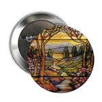 Tiffany Landscape Buttons (10 pack)