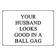 ball gag gifts t-shirts Banner