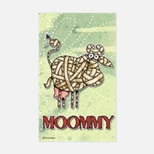 Moommy Rectangle Decal