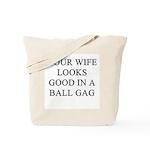 ball gag gifts t-shirts Tote Bag