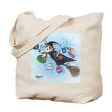 Corgi Kitchen Witch Pembroke Welsh Corgi Tote Bag