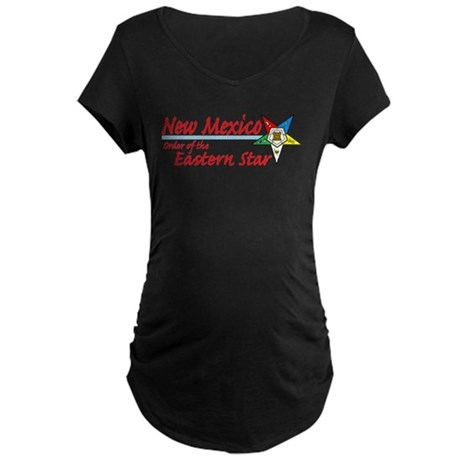 New Mexico Eastern Star Maternity Dark T-Shirt