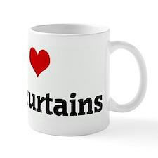 I Love beef curtains Mug