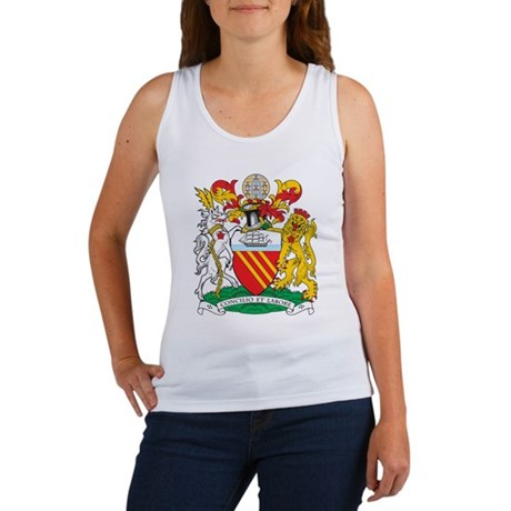 Manchester Coat of Arms Women's Tank Top