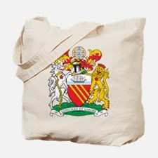 Manchester Coat of Arms Tote Bag