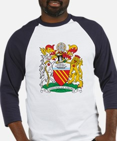 Manchester Coat of Arms Baseball Jersey
