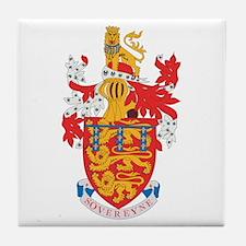 Lancaster Dutchy Coat of Arms Tile Coaster