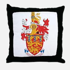 Lancaster Dutchy Coat of Arms Throw Pillow