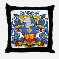 Lancaster Coat of Arms Throw Pillow