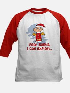 Dear Santa Bad Angel Tee