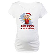 Dear Santa Bad Angel Shirt