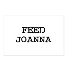 Feed Joanna Postcards (Package of 8)