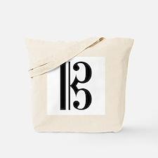 C Clef Tote Bag
