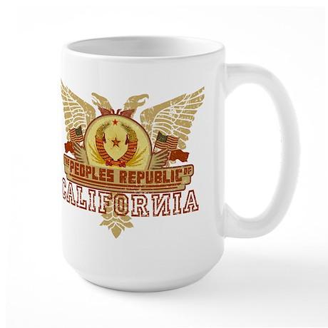 Peoples Rep Of CA Large Mug