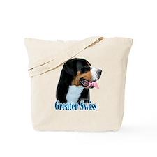 Swissy Name Tote Bag