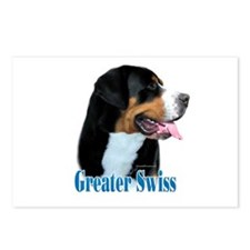 Swissy Name Postcards (Package of 8)