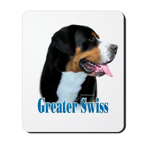 Swissy Name Mousepad