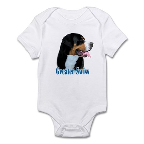 Swissy Name Infant Bodysuit