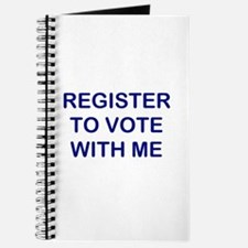 """""""Register to Vote With Me"""" Journal"""