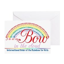 IORG-Bow in the Cloud Greeting Card