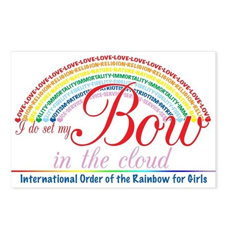 IORG-Bow in the Cloud Postcards (Package of 8)