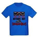 Nothing but Snowmobiles Kids Dark T-Shirt
