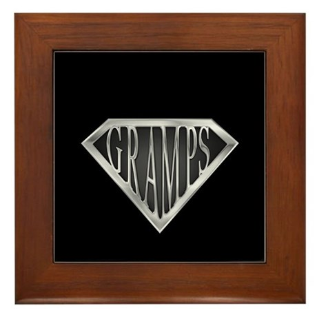 SuperGramps(metal) Framed Tile