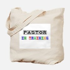 Pastor In Training Tote Bag
