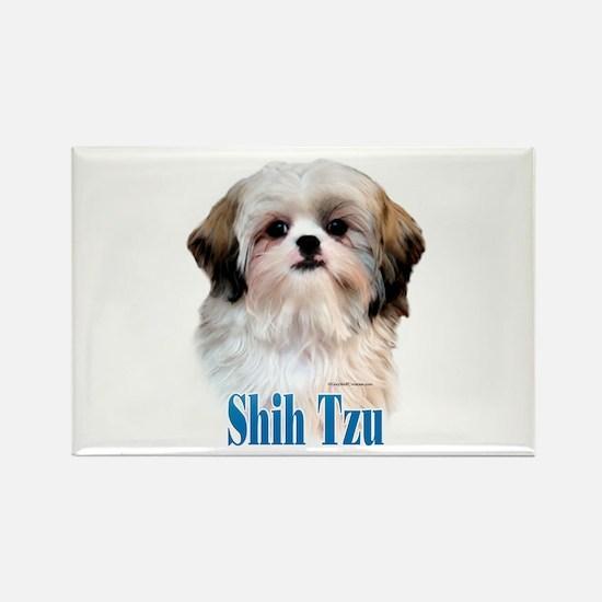 Shih Tzu Name Rectangle Magnet