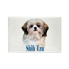 Shih Tzu Name Rectangle Magnet (100 pack)