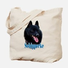 Schipperke Name Tote Bag