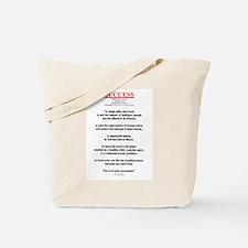 Emerson's Success Tote Bag
