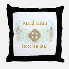 Anglican Hooligan Throw Pillow
