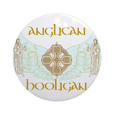 Anglican Hooligan Ornament (Round)