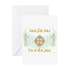 Anglican Hooligan Greeting Card