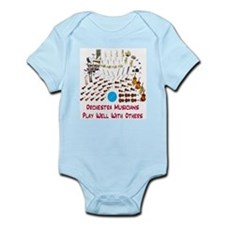 Orchestra--Play Well With Oth Infant Bodysuit