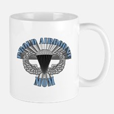 Proud  Airborne Mom Zoom Mug