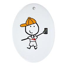 iPhone - Ryan Oval Ornament