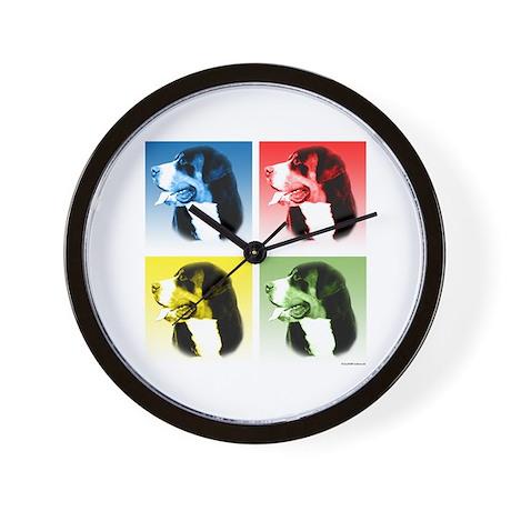 Swissy Pop Wall Clock