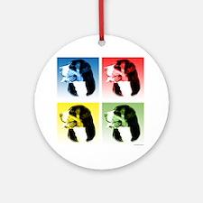 Swissy Pop Ornament (Round)