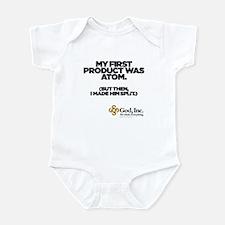God, Inc. Atom Infant Bodysuit